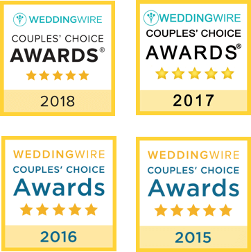 Wedding Wire Couples' Choice Awards 2015-2018
